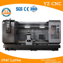 china supplier horizontal type cnc lathe c axis machine for taper thread cutting