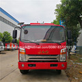 JAC diesel euro 4 single/double row light truck big fire cannon fire truck