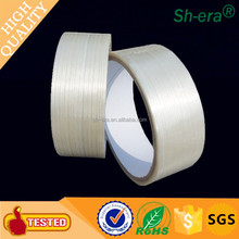 Environmental protection self adhesive fiberglass mesh tape filament