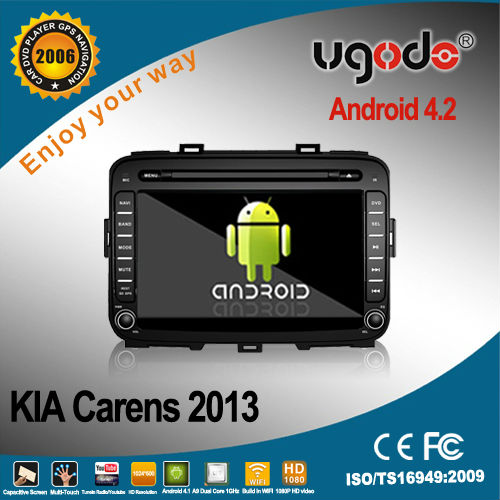 android car stereo for Kia Carens 2013 DVD player with GPS radio bluetooth 3G WIFI