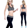 Newest tight great stretch woman Sport capri Wear fitness gym jogging clothing