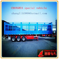 high quality Q420 steel plate cargo box trailer, in truck trailers light design, 3 axle with all famous brand spare parts