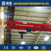 2015 electric single girder suspending overhead crane made by Kaiyuan Machine for those who need