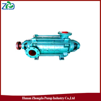 ZHONGDA D Type High Pressure High Head Horizontal Centrifugal Multistage Water Pump