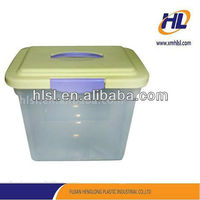 New Customized Colorful plastic PP Storage Packing Shoe Box With Lid