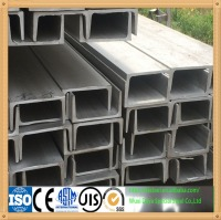 stainless steel u-channel size