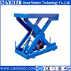 Sinmec air hydraulic motorcycle lift table