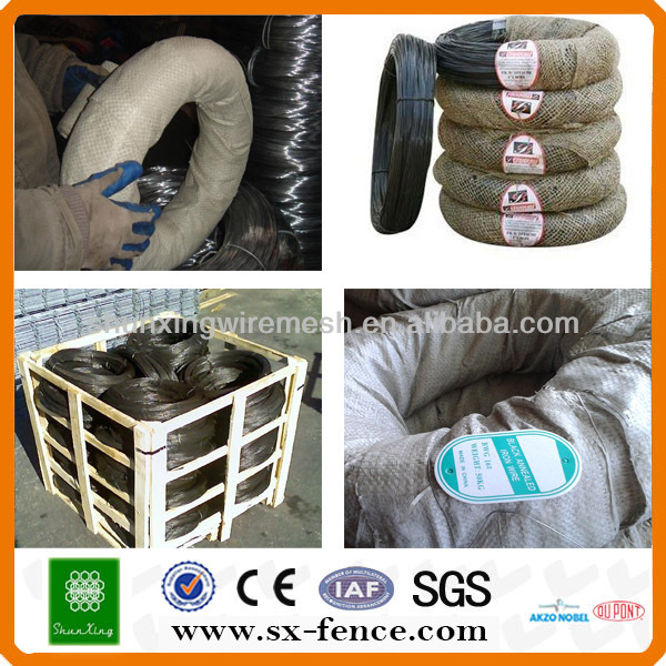 8\12\14\16\18\22 gauge black annealed wire(professional manufacturer)