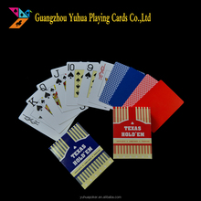 100% plastic playing cards printing poker YH1217