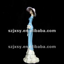 Blue Polyresin Fairy Decoration Craft