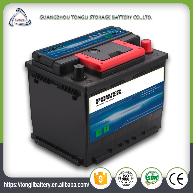 hybrid 12v 50ah electric lead acid car battery for sale car battery packs