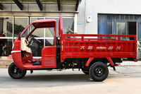2016 Made in China manufactory factory tricycle conversion kit china cargo truck tricycle with Heavy Duty Closed Body