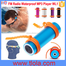 (Colorful: Blue) Underwater 4G Waterproof MP3 Player for Diving and Swimming