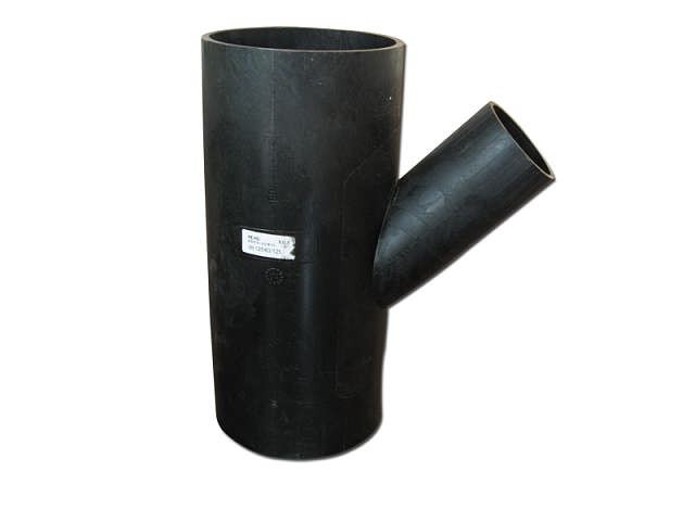 astm a420 wpl8 reducing tee/45 degree pipe fitting lateral tee