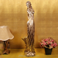 no moq euro wine storage racks gold sexy nude lady figures stand