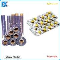 Packaging material rigid 1mm thick pvc roll