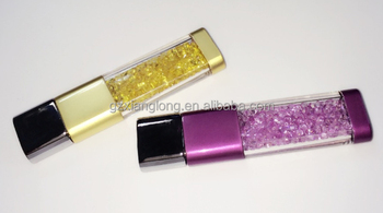 Crystal USB Flash Disk for promotional gift 8G storage