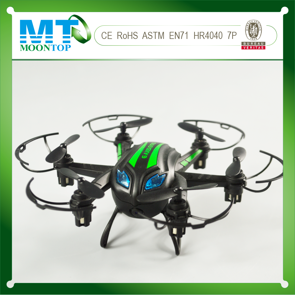 6 axis gyro wifi control drone quadcopter, rc drones with cameras