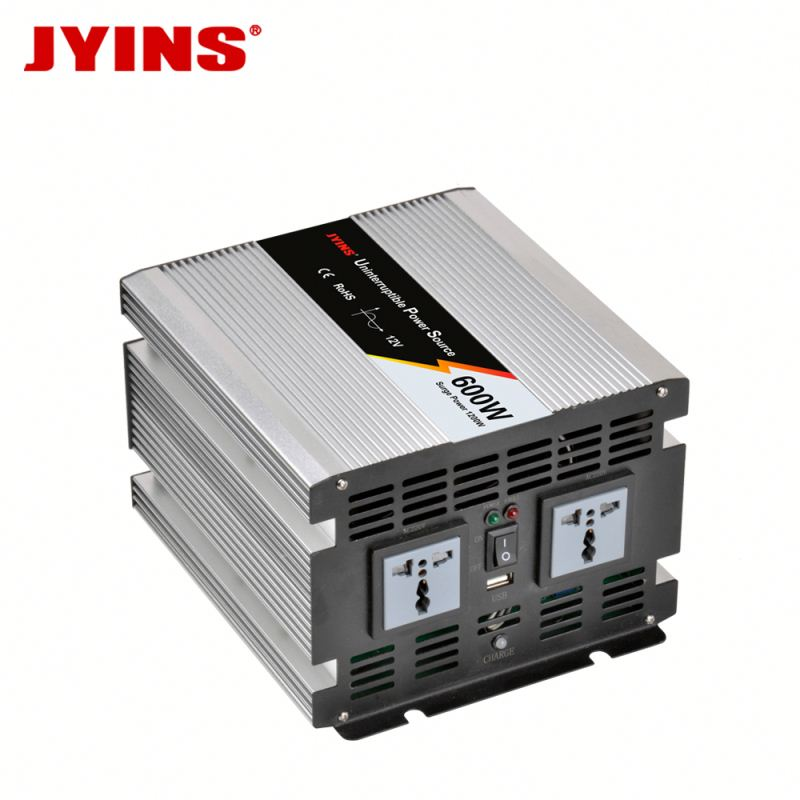 600W 12v 24v dc to ac 110v 230v car battery inverte With Charger