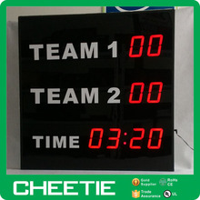 Remote Control LED Digital Football Used Scoreboard for Sale
