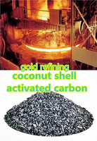 Granulated coconut shell activated carbon for gold mining purification