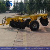 Farm equipment offset heavy duty disc harrow for sale