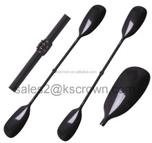 Adjustable carbon fiber kayak paddle flatwater kayak paddle