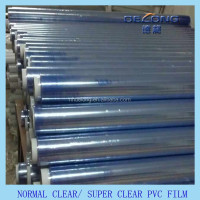 pvc super clear transparent sheet 38phr flexible transparent pvc film for mattress