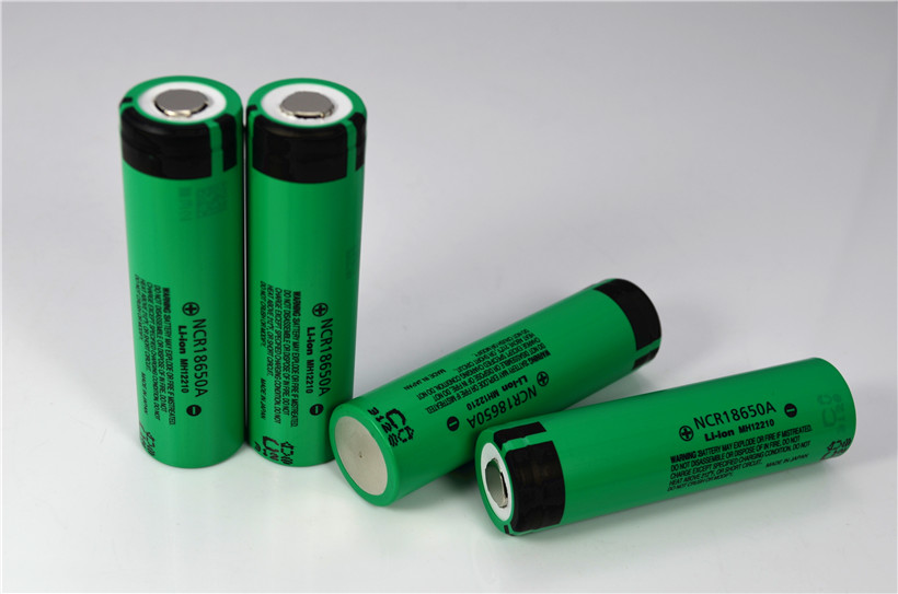 Original rechargeable li-ion battery NCR18650A 3100mAh