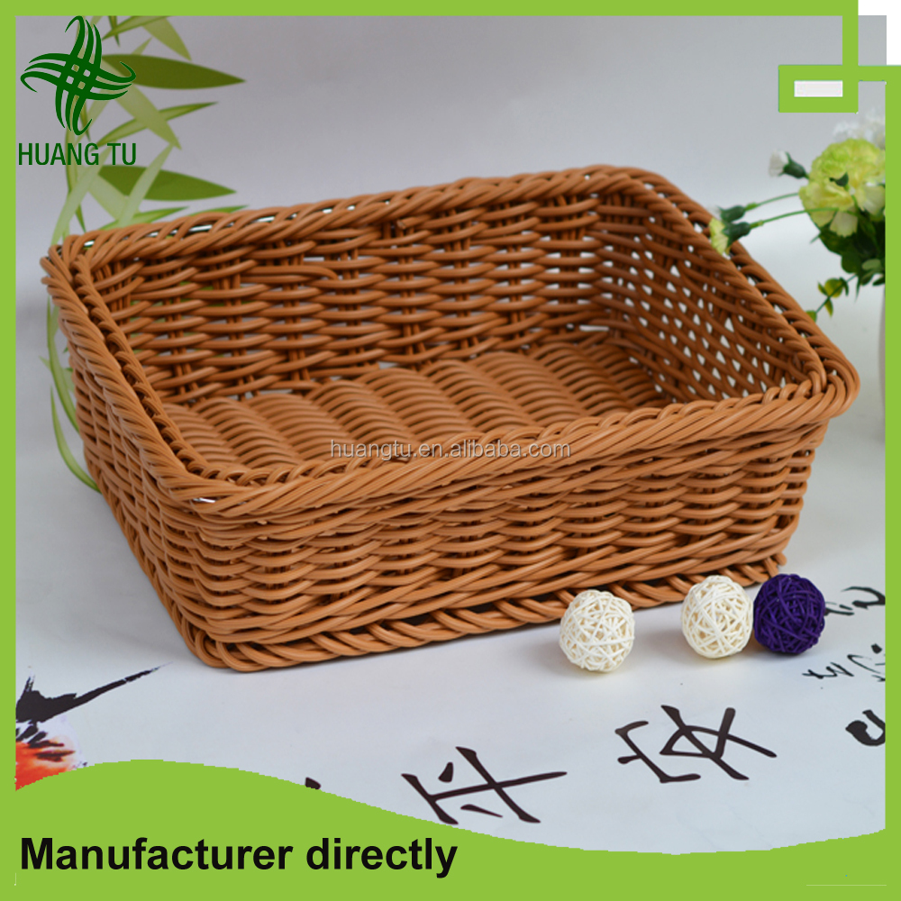 Harmless food rattan basket rattan tray