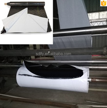 Trade assurance Panda film Black & White poly film 5.5Mil Grain Bunker Covers silage cover