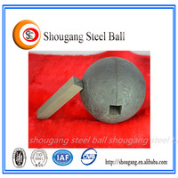 high chrome cast iron balls for stone grinding machine