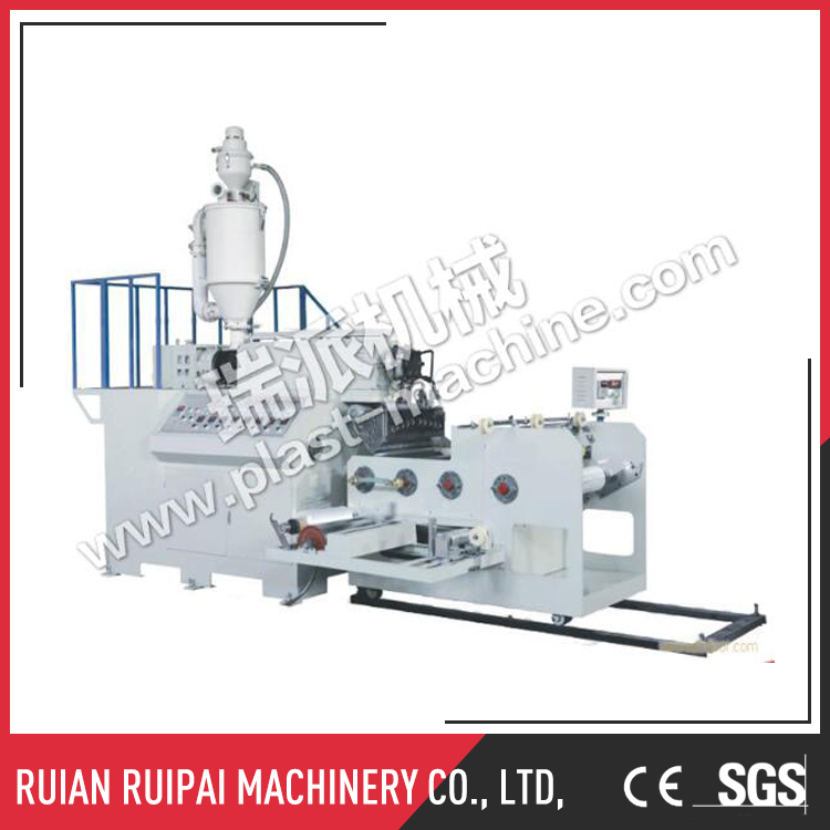 LLDPE single/two layer extrusion cling stretch packing film making machine
