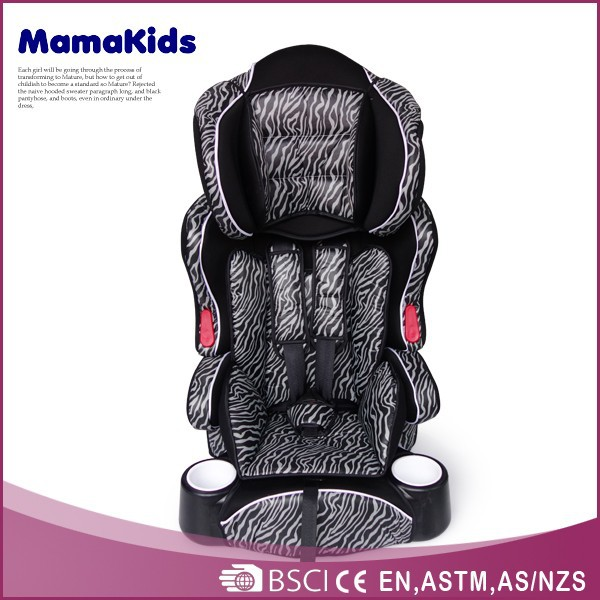 Adjustable children car chairs ECE R44/04 2015 folding car seat baby