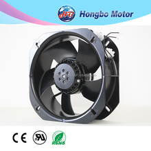 Ac Electrice current type of metal blades 220v High performance 22580 ac Cooling brushless axial Fan