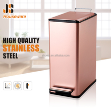 Stainless steel Rectangular decorative trash cans
