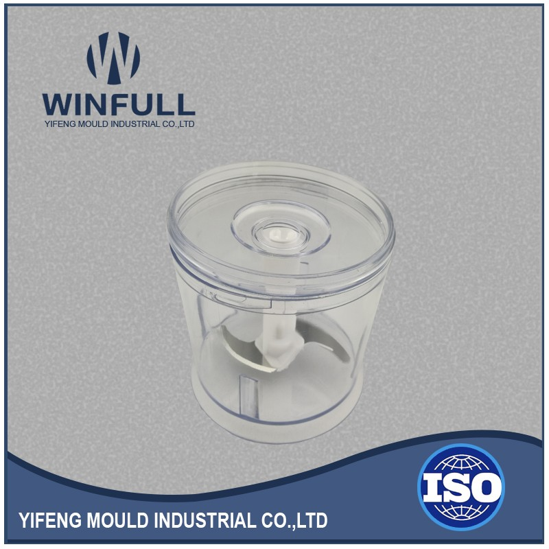 plastic mould die makers provide plastic injection spare part of meat chopper