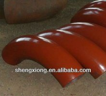 ductile iron 90 deg double flanged bend a420 wpl6 carbon steel bend