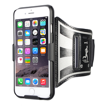 Hot sale running jogging mobile phone sport armband case for iphone 7 7 plus