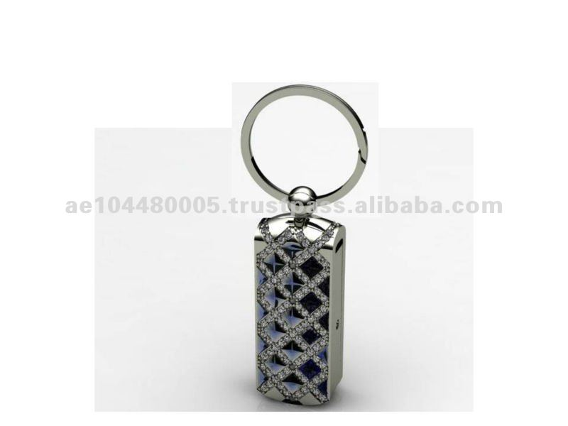 VIP Metal White Gold Jewelry USB Gift for Him