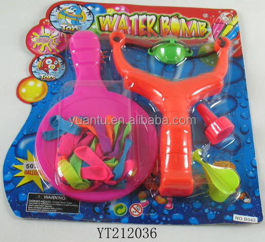 water bombs slingshot balloon plastic catapult toy