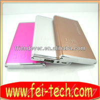 high quality metal power bank new technology products for 2013