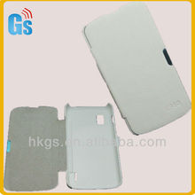 Battery Housing Case/leather Flip cover case for LG Google Nexus 4 E960 New