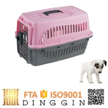 Pet accessories airline dog carrier plastic
