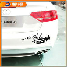 Printing Custom Fancy Sport Vinyl Body Decal Bumper Car Sticker