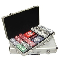 professional 500pcs poker chip box acrylic chip tray poker chip set for aluminum