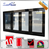 Hot sale sound proof glazing aluminium bi-folding window
