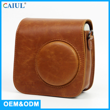 OEM /ODM Wholesale PU Leather Small Fashion Camera Bag For Polaroid Photo Camera Mini 7S