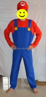 Party Carnival adult Men Super Mario Costumes MAB-13