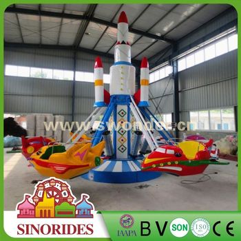 Thrilling rides! Sinorides musical self-control plane ride,musical self-control plane ride for sale